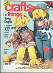 Click here to enlarge image and see more about item M4820: Crafts 'n things magazine -  September 1988