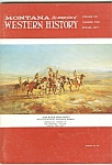 Click here to enlarge image and see more about item M4850: Montana, the magazineof  Western History