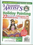 Decorative artist's workbook -  October 2004