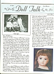 Click here to enlarge image and see more about item M4879: Doll Talk  magazine -  June 1986