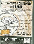 J.,. Whitney & Co. automotive parts catalog - # 154