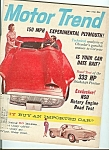 Click here to enlarge image and see more about item M4973: Motor Trend - May 1960