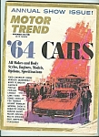 Click here to enlarge image and see more about item M4975: Motor Trend -November 1963