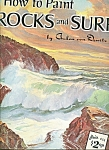 Click here to enlarge image and see more about item M4981: How to paint Rocks and surf - # 150