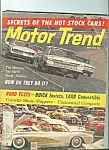 Click here to enlarge image and see more about item M4986: Motor Trend - June 1960