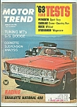 Click here to enlarge image and see more about item M4992: Motor Trend - August 1962