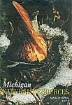 Michigan Natural ressources - March, April 1973
