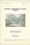Pruning ornamental woody plants - february 1931