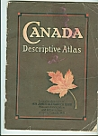 Click here to enlarge image and see more about item M5360: Canada descriptive atlas - 1925