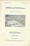 Click here to enlarge image and see more about item M5367: Michigan State College - Hotbeds and cold frames - May