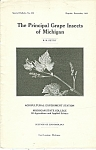 Click here to enlarge image and see more about item M5369: The  Principal Grape Insects of Michigan booklet - 12-1