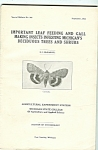 Click here to enlarge image and see more about item M5370: Leaf feeding bulletin No. 243- September 1933