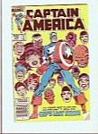 Click here to enlarge image and see more about item M5383: Captain America  comic book # 299  - Nov. 1984