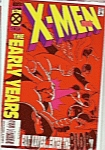 X-Men, the early years Nov. 7 comic
