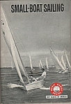 Click here to enlarge image and see more about item M5422: Small boat sailing - Merit badge series - 1969