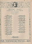 Click here to enlarge image and see more about item M5535: Frederic Chopin works for the Pianoforte -Nocturnes