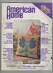 Click here to enlarge image and see more about item M5800: American home - April  1974