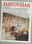 Click here to enlarge image and see more about item M5813: The Family Handyman -  October 1974