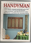 Click here to enlarge image and see more about item M5820: The Family Handyman -   April 1974