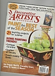 Decorative Artist's workbook - August 2005