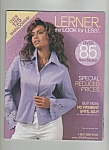 Click here to enlarge image and see more about item M5970: Lerner women's clothes catalog  -July 2003