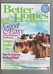 Better Homes and Gardens August 2007