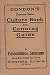 Click here to enlarge image and see more about item M6112: Condon's culture book & canning guide