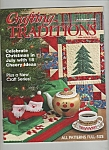 Crafting Traditions -  July/August 2003