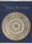 Click here to enlarge image and see more about item M6328: The China Decorator  -March 1985
