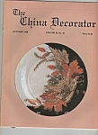 The Chjina Decorator - October 1989