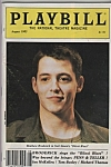 Playbill magazine - MATTHEW BRODERICK  - Aug./ 1985