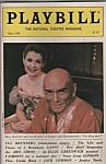 Playbillmagazine =YUL BRYNNER - May 1985