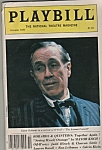 Playbill magazine- JASON ROBARDS -October 1985