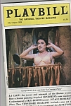 Playbill - GEORGE HEARN  - July/August 1984