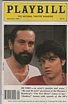 Playbill magazine- Sep[tember 1986 ROBERT DE NIRO