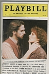 Playbill magazine- March 1984 - JEREMY IRONS  -GLENN CL