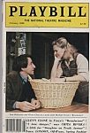 Playbill - SAM WATERSTON - GLENN CLOSE  - Feb. 1986