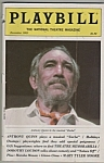 Playbill magazine- ANTHONY QUINN - December 1983