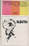 Program - SLEUTH - Paybill Magazine   1971