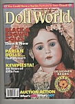 Click here to enlarge image and see more about item M6471: Doll world magazine -  April 1993