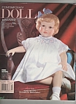 Click here to enlarge image and see more about item M6488: Contemporary  doll magazine -  October 1993