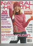 Natural Health magazine-  December?January 2006