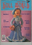 Click here to enlarge image and see more about item M6522: Doll world magazine - April 1984