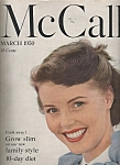 Click here to enlarge image and see more about item M6559: McCalls magazine- March 1950-JOAN CAULFIELD