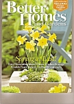 Better Homes & Gardens magazine- April 2008