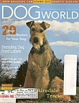 Click here to enlarge image and see more about item M6656: Dog World - september 2001