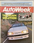 Click here to enlarge image and see more about item M6699: Auto Week  June 27, 1988