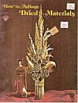 How to arrange Dried Materials  1974