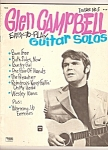 Click here to enlarge image and see more about item M6701: Glen Campbell guitar solos magazine - Issue No. 5