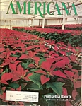 Americana magazine -  Nov. Dec. 1980